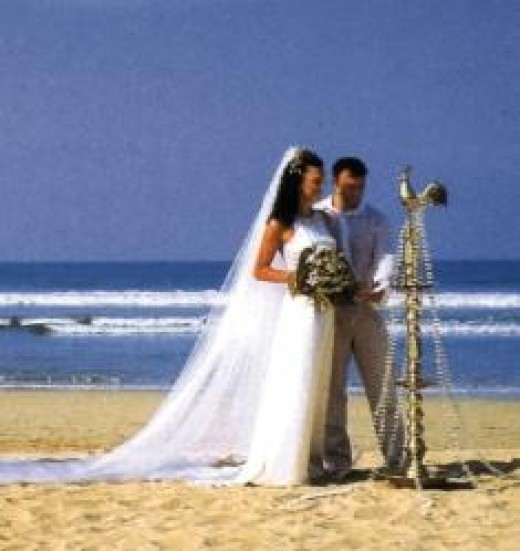 Beach wedding in Sri Lanka, beautiful locations and low cost