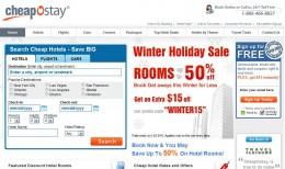 CheapOstay.com Website