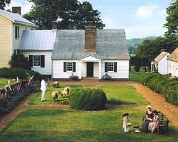 Monroe's simpler Ash Lawn - Highland.