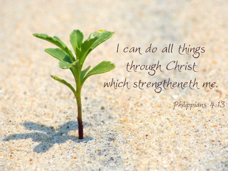 You Can Do ALL Things through Christ!