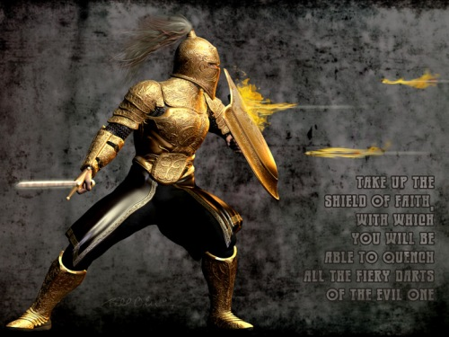 Let the Fiery Darts of the Wicked Bounce off Your Shield of Faith!