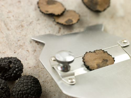 Black truffles & Truffle Slicer Image:  Monkey Business Images|Shutterstock.com