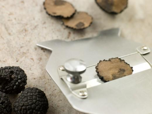 Black truffles & Truffle Slicer Image:  Monkey Business Images|Shutterstock.com