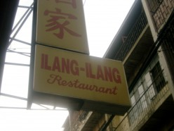 Dining in at the Ilang-Ilang Chinese Restaurant, the oldest in Manila