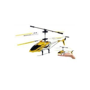 New Syma 3 Channel S107 Mini Indoor Co-Axial Metal Body Frame & Built-in Gyroscope RC Remote Controlled Helicopter