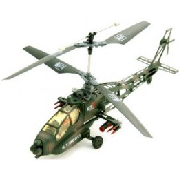 RC Apache Helicopter 4 Channel Remote Control Ready To Fly