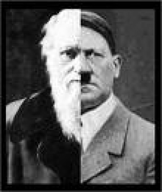 Darwin and Hitler, cause and effect!