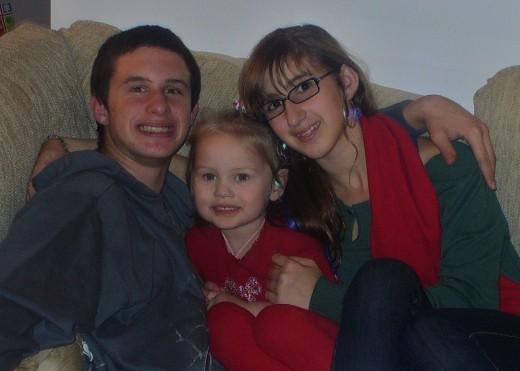 My Three Darling J's Holiday Photo 2010