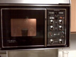 Microwave were as big as TV's (then again, both TV's and microwaves have shrunk - nothing to see here, carry on!)