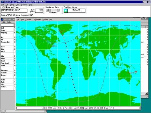 Win Orbit Satellite Tracking
