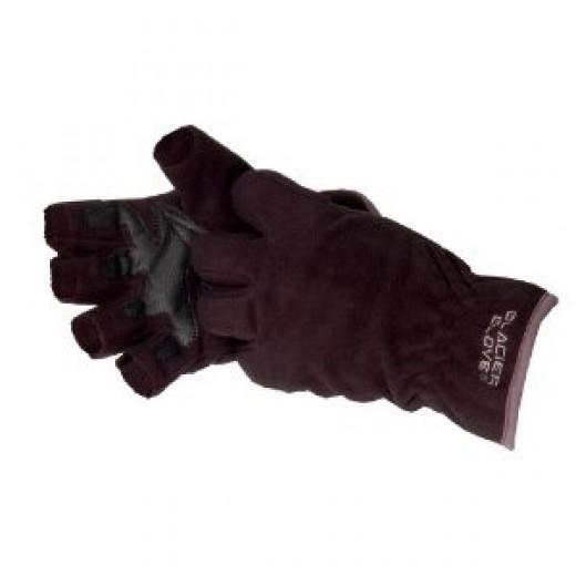 Glacier Glove Windproof Fleece Fingerless Glove