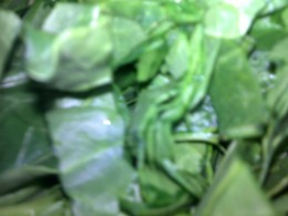 Spinach: Full of iron
