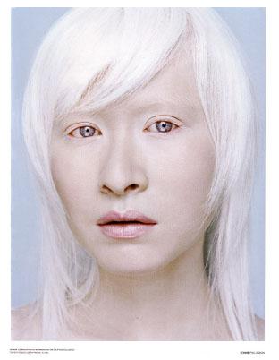 Chinese model Connie Chiu.