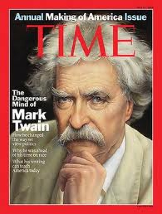 Mark Twain 1835 - 1910 Author, humorist