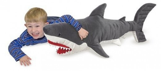 Melissa & Doug Plush Shark
