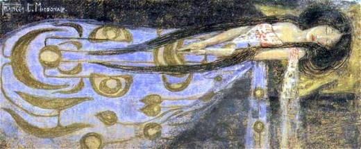 Frances MacDonald - The Sleeping Princess, 1910