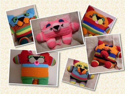 A sampling of my Funmigurmi Kitties