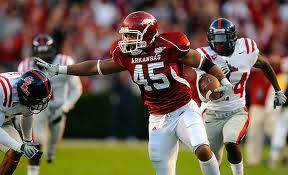 TE DJ Williams Arkansas