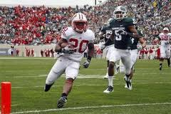 RB James White Wisconsin