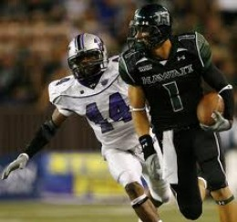 WR Greg Salas Hawaii
