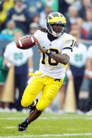 QB Denard Robinson Michigan