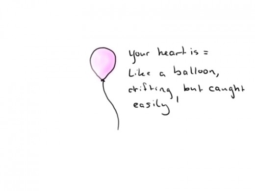 just a balloon