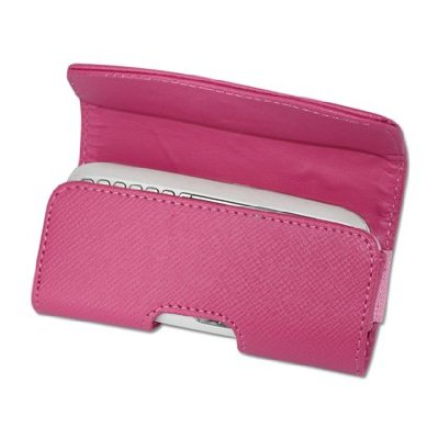 Pink Leather case for the Nokia X6
