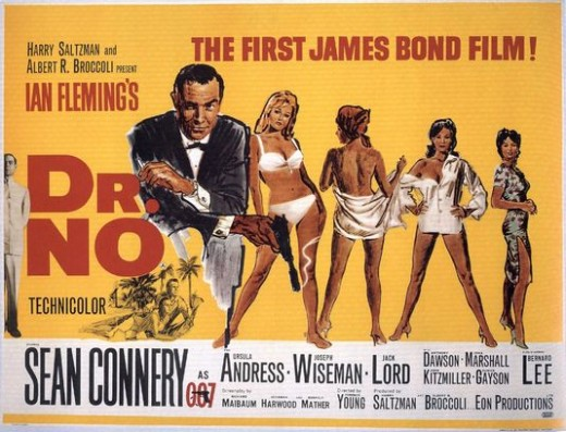 Dr. No movie poster, courtesy of impawards.com
