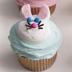 How to Make Easter Bunny Cupcakes Coloring and Candies
