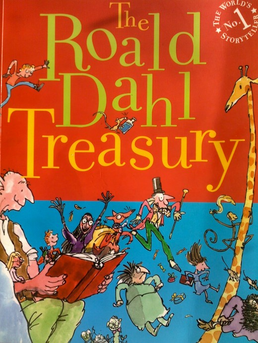 Roald Dahl's Treasury contain many excerpts and short stories of Roald Dahl including Charlie and the Chocolate Factory