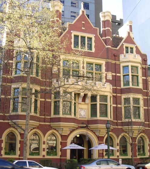 Collins Street architecture
