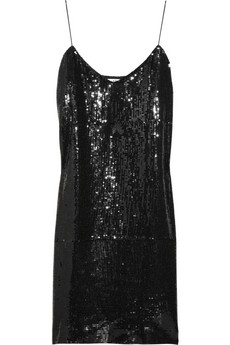 Tibi Sequin Dress; $370