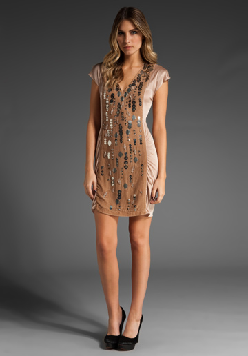 Nanette Lepore Velvet Dress; $398