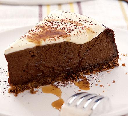 The Yummy Chocolate Cheese Cake!!