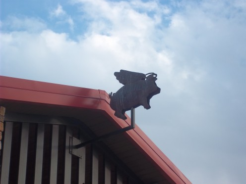 ...when pigs fly...