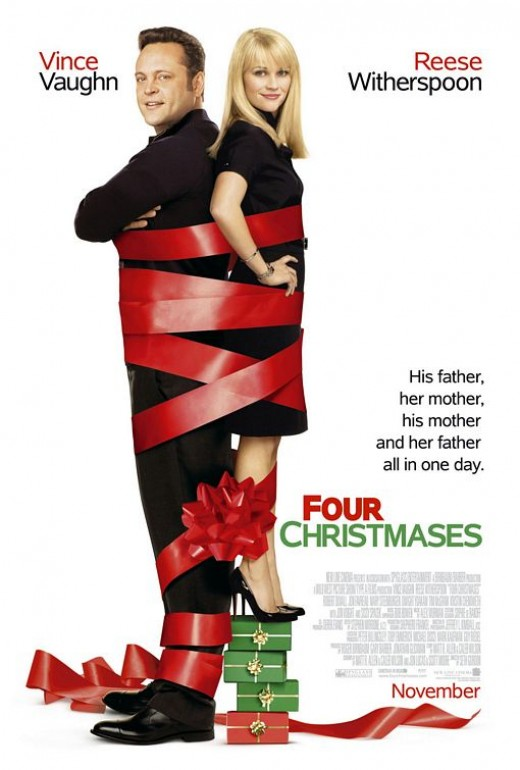 Four Christmases movie poster, courtesy of impawards.com