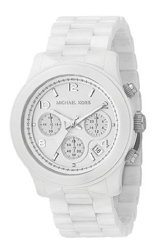 Women's Chronograph White Ceramic MK 5163