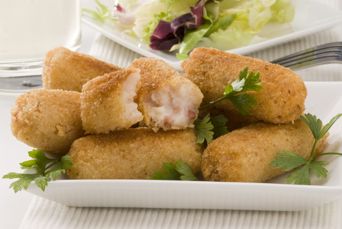 Spanish Ham Croquettes. Image:  Patty Orly|Shutterstock.com