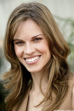 This is Hilary Swank.
