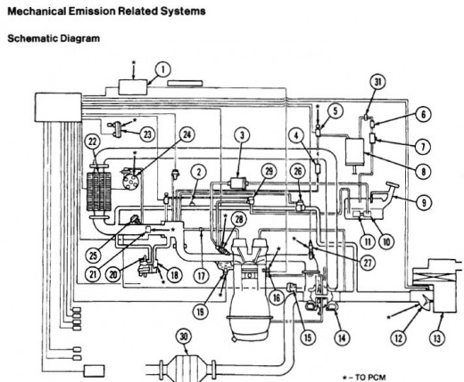 Schematic of the XR2 engine layout