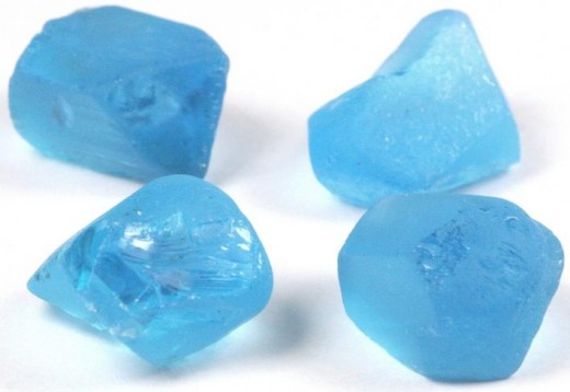 Electric Blue Topaz Stones