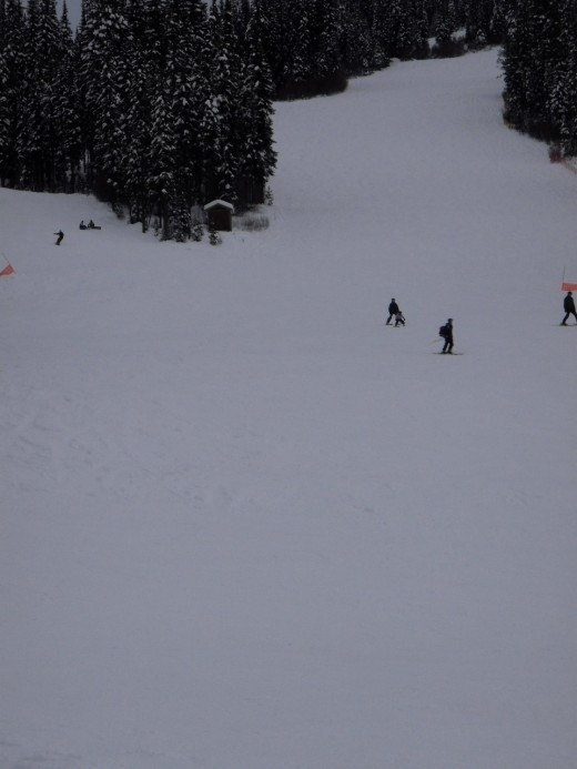 Sun Peaks compares to Whistler, but without the crowds.