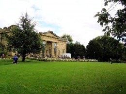 The Yorkshire Museum is situated in the Museum Gardens