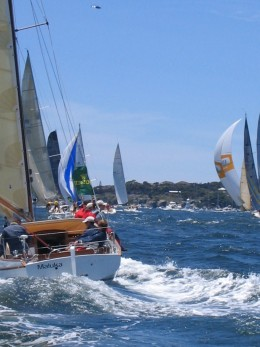 Sydney Harbour Start