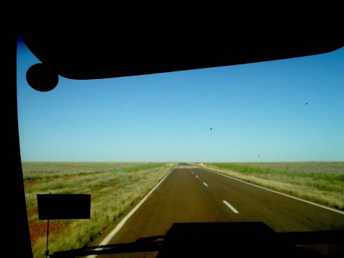 Barkly Tablelands - flat as...!