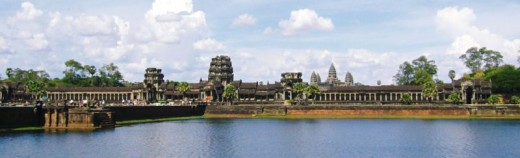 Angkor Wat in Cambodia is the New Seven Wonders of The World