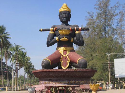 Kranhoung Stick King - Cambodia