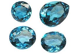 London Blue Topaz Stones