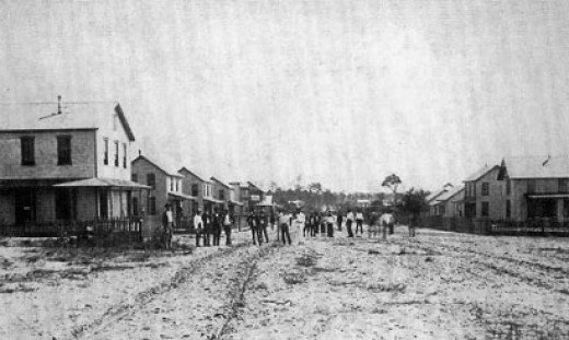 Establishing of Ybor City in 1886