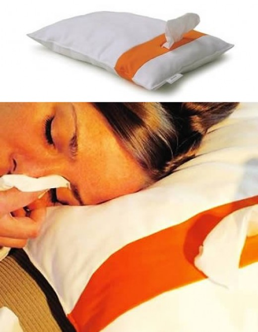 Crying youself to sleep? Here's a pillow for ya!